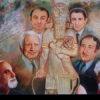 The Assyrian painter  Mr. Edward Hydo.
