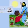 """Children's book """"Raaya tawa""""."""
