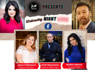 Wednesday Night Life Episode 7 with Vasili Shoumanov, Madlen Ishoeva and Janna Yukhanova.