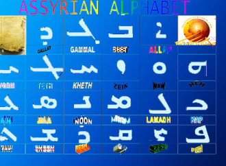 Ассирийский алфавит.