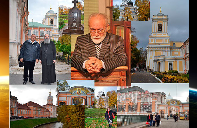 Saint Alexander Nevsky Monastery, St.  Petersburg.