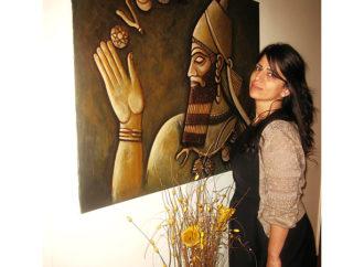 Assyrian artist (Painter) Mrs. Agnes Ishak.