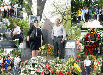 Youma d'sahde go Erevan, Assyrian Martyrs Day in Erevan.