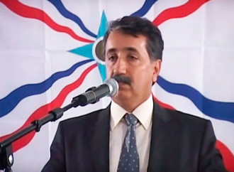 The assyrian poetry nigt. Urmia, Iran. Part-2.