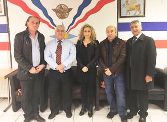 Встреча с тремя ассирийцамив Германии.