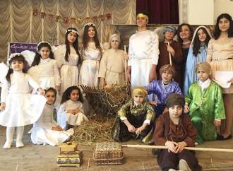 Christmas Eve play, Krasnodar.
