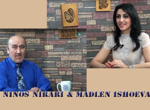 Ninos Nirari & Madlen Ishoeva.