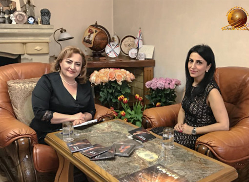 Interview with Assyrian singer Madlen Ishoeva.