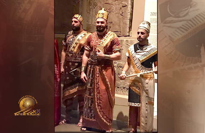 Британский музей. Часть 3-демонстрация ассирийской моды.