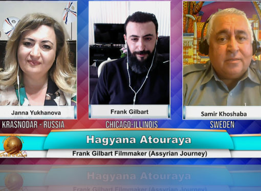 Interview with  Assyrian film director Mr. Frank Gilbert.