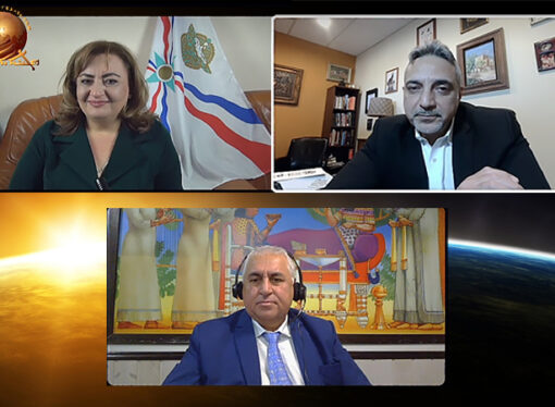 Interview with the Assyrian activist and lawyer Robert W. Dekelaita from Chicago.