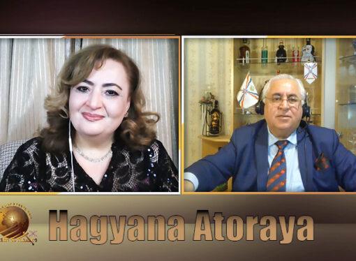 Merry Christmas and Happy New Year wishes from Hagyana Atouraya.
