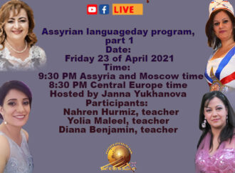 Discussion about the Assyrian language teaching for children.