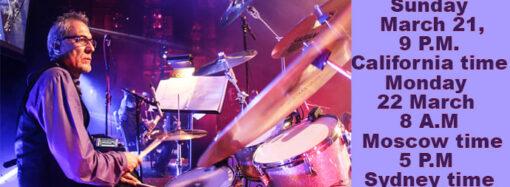 Ассирийский музыкант, барабанщик Роберт Ногли.